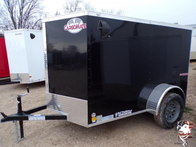 2021 Cargo Mate 5 x 8 E-Series Enclosed Cargo Trailer