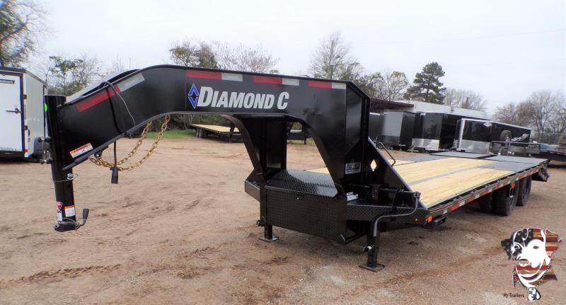 2021 Diamond C Trailers 102 x 25 FMAX 210 Flatbed Trailer