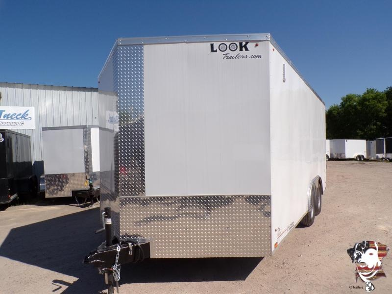 2021 Look Trailers 8.5 X 16 TA Element Enclosed Cargo Trailer