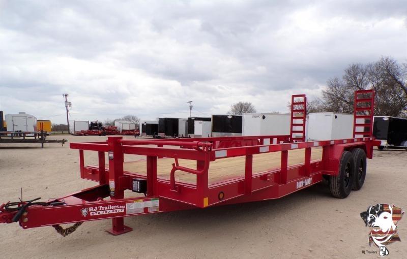 2021 Buck Dandy 83 x 20 Equipment Trailer