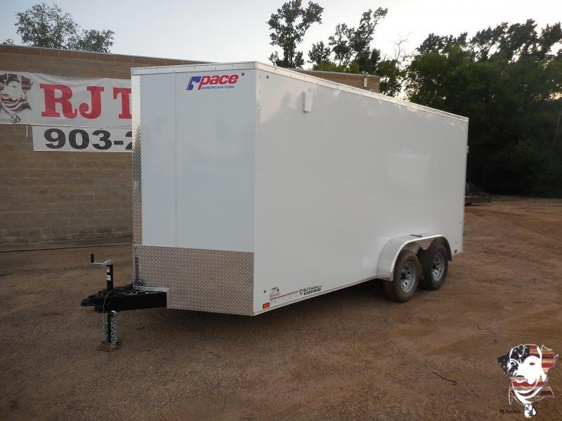 2021 Pace American 7 x 16 Journey Enclosed Cargo Trailer
