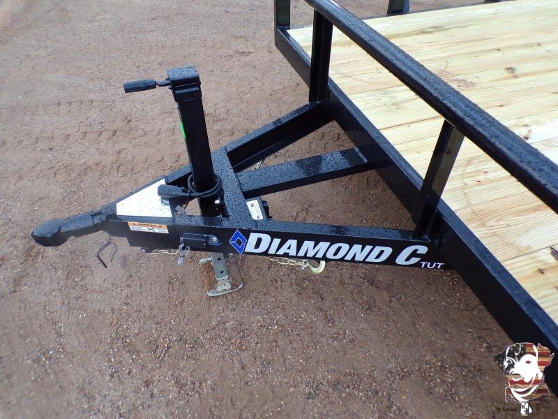 2021 Diamond C Trailers 82 x 20 TUT 252 Utility Trailer