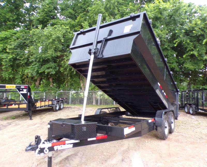 2021 Texas Pride Trailers 82 x 16 Telescopic Dump Trailer