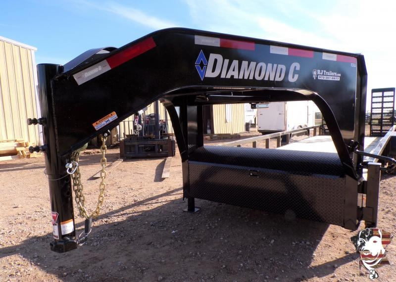 2020 Diamond C Trailers 82 x 24 EDU 207 Gooseneck Equipment Trailer