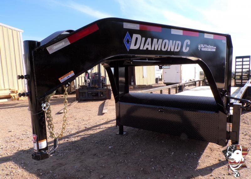 2020 Diamond C Trailers 82 x 24 EDU 207 Gooseneck Equipment Trailer