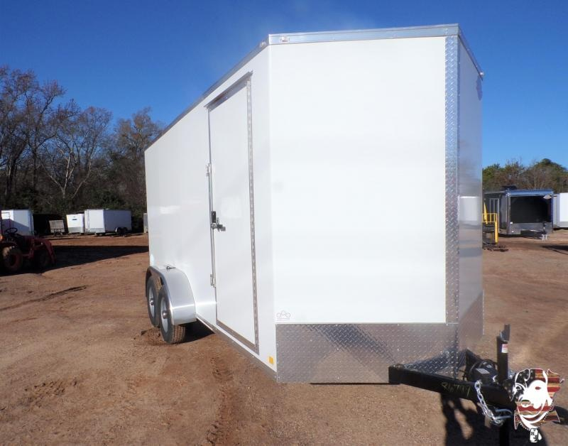 2021 Cargo Mate 7 x 16  Cell Tech Enclosed Cargo Trailer