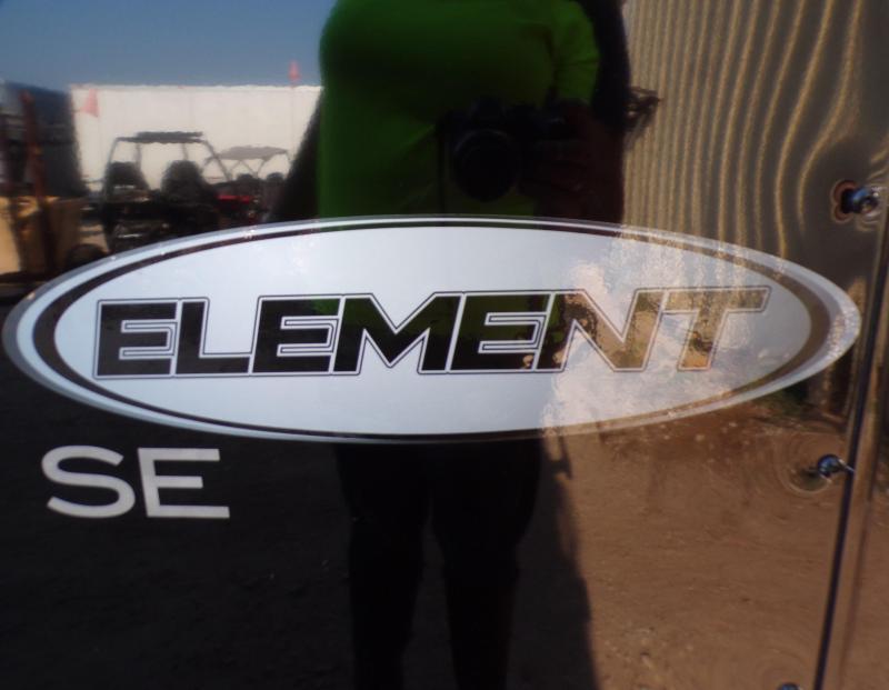 2022 Look Trailers 8.5 x 24 Element Auto SE Car / Racing Trailer