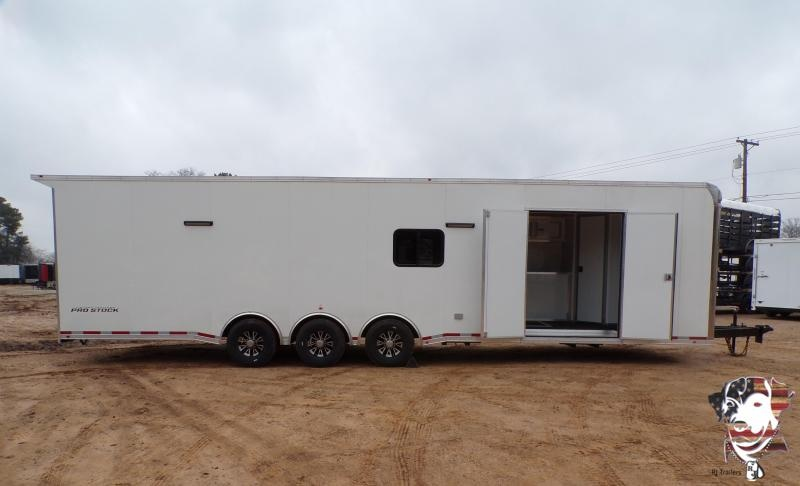 2021 Vintage 8.5 x 34  Pro Stock Series Racing Trailer