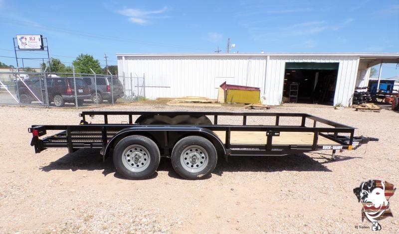 2021 Buck Dandy 77 x 16 Big Buck TA Utility Trailer