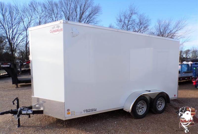 2021 Cargo Mate Cell Tech 7 x 14 Enclosed Cargo Trailer