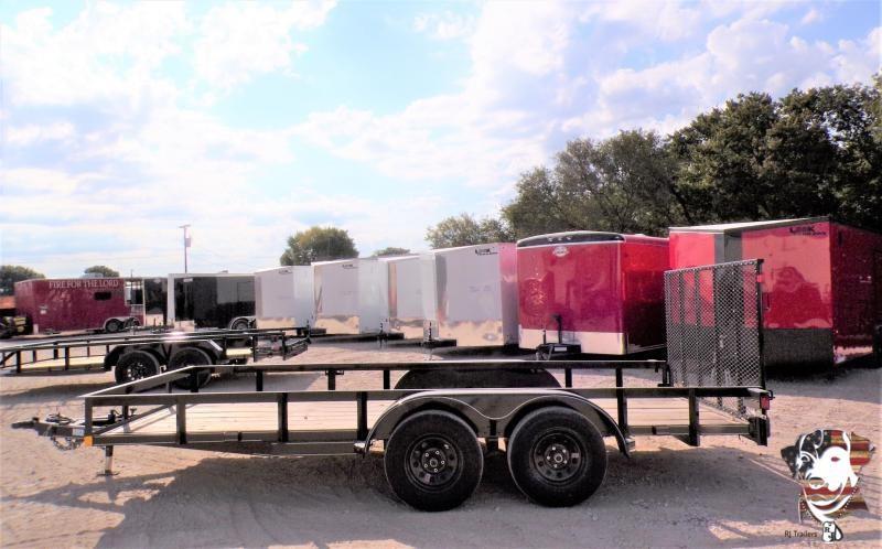 2021 Buck Dandy 77 x 16 Big Buck Utility Trailer