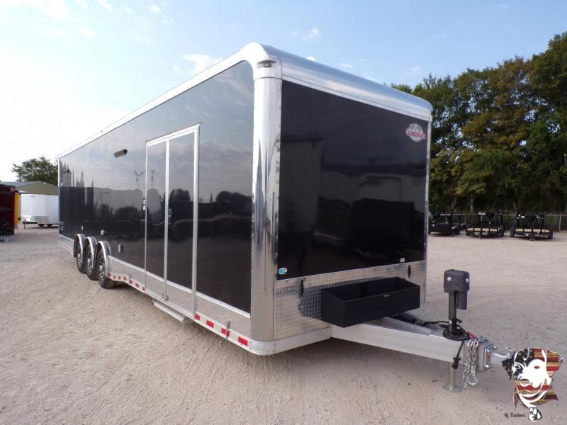 2021 Cargo Mate 8.5 x 34 Eliminator SS Car / Racing Trailer