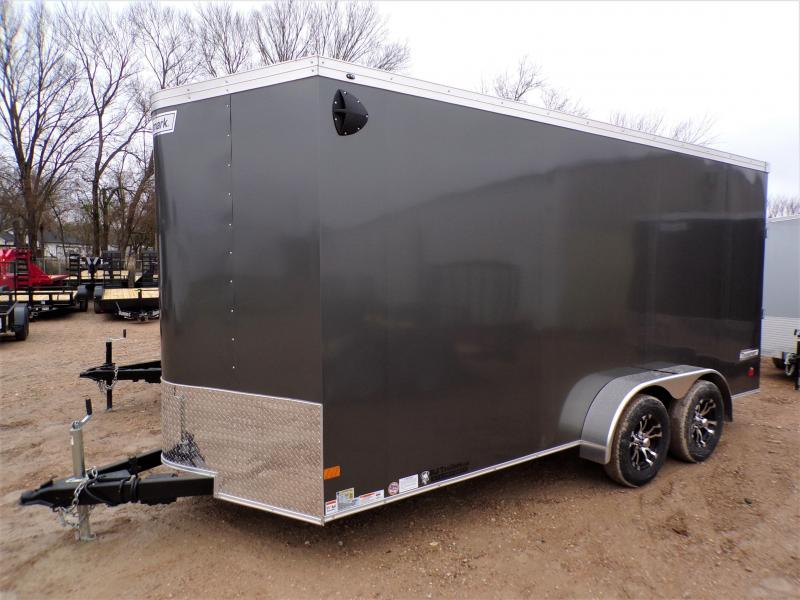 2021 Haulmark 7 x 16 Transport V-Nose Enclosed Cargo Trailer