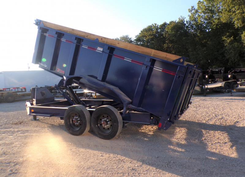 2021 Diamond C Trailers 82 x 14 LPD 208 Dump Trailer