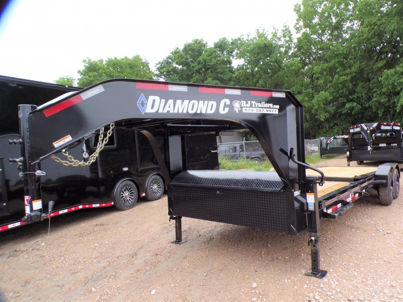 2021 Diamond C Trailers 82 x 24 HDT 210 Equipment Trailer