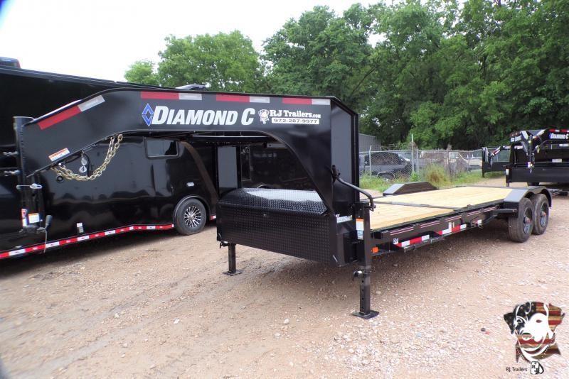 2021 Diamond C Trailers 82 x 24 HDT 210 Equipment Trailer