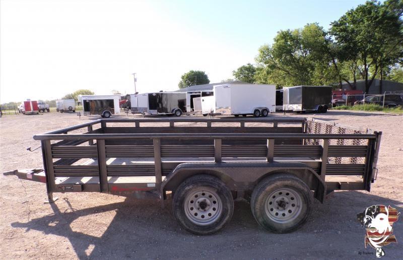 2018 TexLine 77 x 12 Utility Trailer