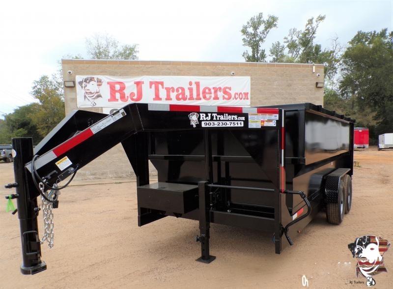 2020 Texas Pride Trailers 82 x 14 Gooseneck Telescopic Dump Trailer