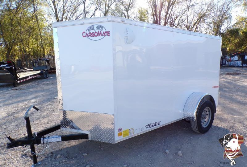 2021 Continental Cargo 5 x 10 E-Series Enclosed Cargo Trailer