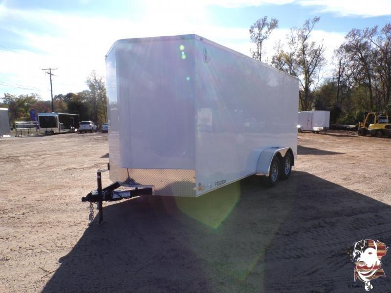 2021 Cargo Mate 7 x 16  Enclosed Cargo Trailer