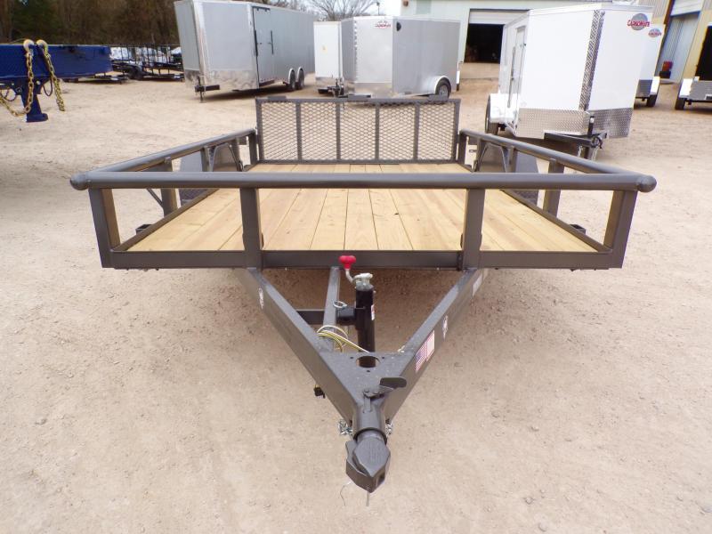 2021 TexLine 77 x 10 Stealth Utility Trailer