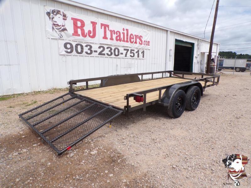 2021 Buck Dandy 83 x 16 TA Big Buck Utility Trailer