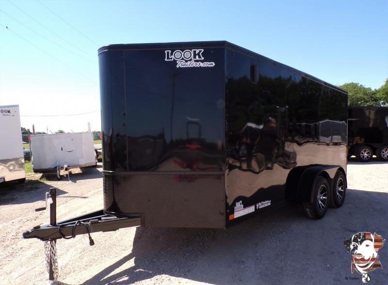 2021 Look Trailers 7x14 LXT Motorcycle Trailer