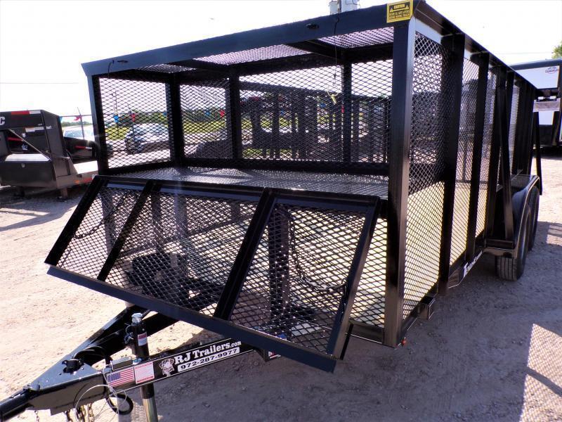 2021 TexLine 77 x 16 Landscape Utility Trailer