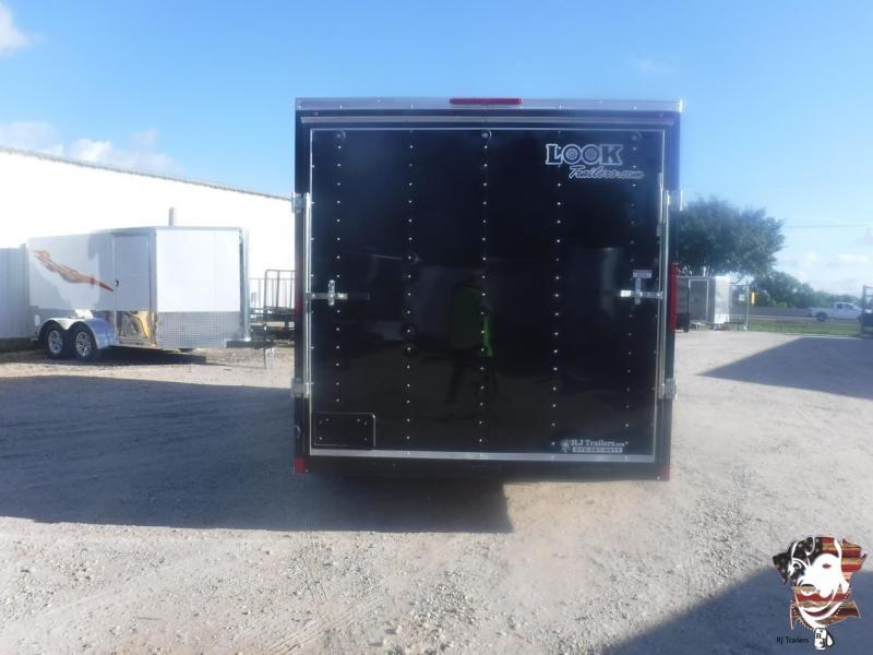 2019 Look Trailers 7 X 16 TA Element Enclosed Cargo Trailer