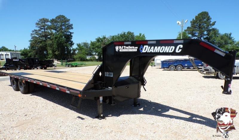 2021 Diamond C Trailers 102 x 30 FMAX 212 Flatbed Trailer