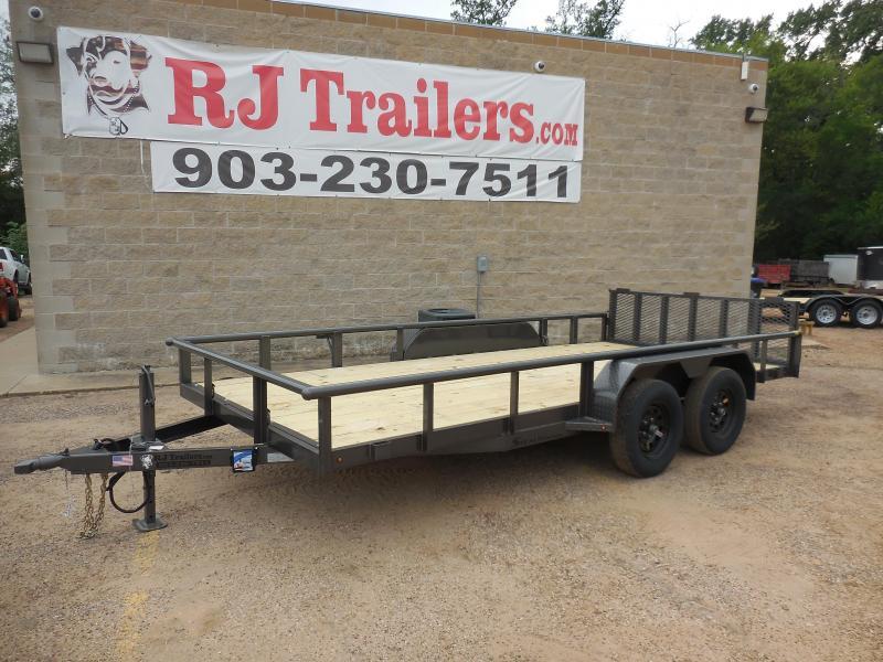 2020 TexLine 83 x 16 Stealth Utility Trailer