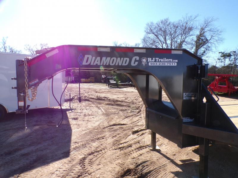 2021 Diamond C Trailers 102 x 40 FMAX 212 HDT Flatbed Trailer