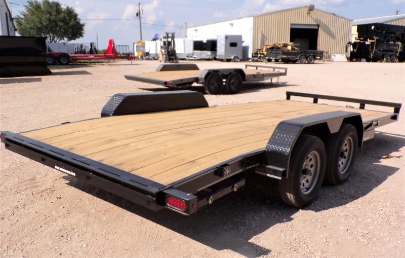 2021 TexLine 83 x 20 Deluxe Car / Racing Trailer