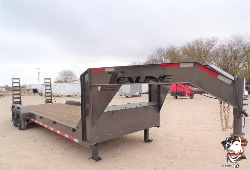 2020 TexLine 83 x 24 Bobcat Gooseneck Equipment Trailer