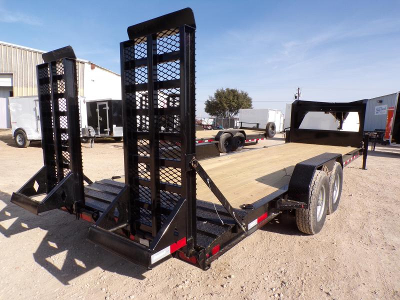 2021 Diamond C Trailers 82 x 24 LPX 207 GN Equipment Trailer