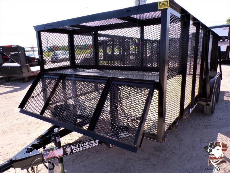2020 TexLine 77 x 16 Landscape Utility Trailer