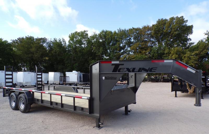 2020 TexLine 83 x 20 TexLine Gooseneck Equipment Trailer