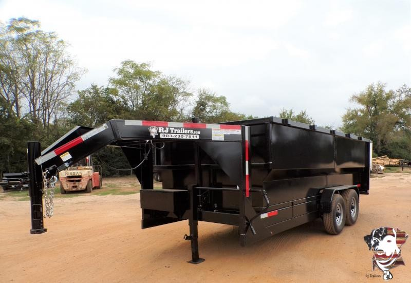 2021 Texas Pride Trailers 82 x 16 Gooseneck Telescopic Dump Trailer