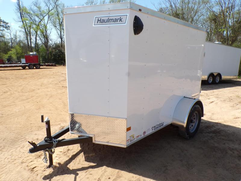 2021 Haulmark 5 x 8 Passport Enclosed Cargo Trailer
