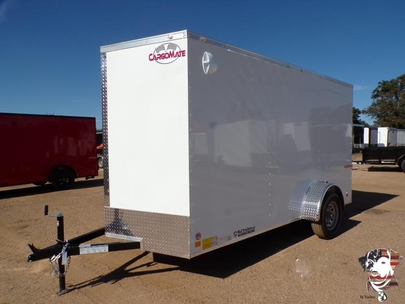 2021 Cargo Mate 6 x 12 E Series SA Enclosed Cargo Trailer