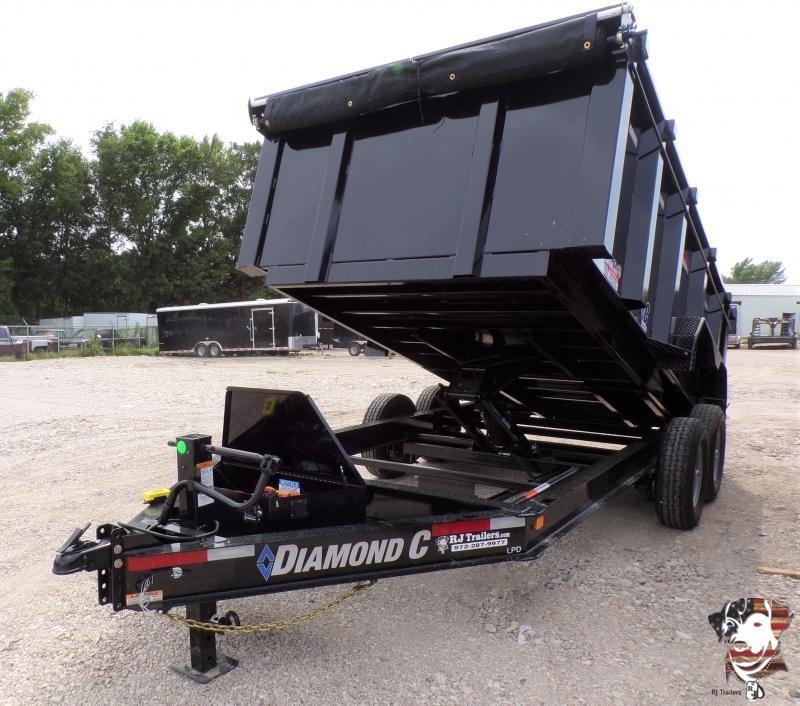 2020 Diamond C Trailers 82 x 14 LPD 207 Dump Trailer