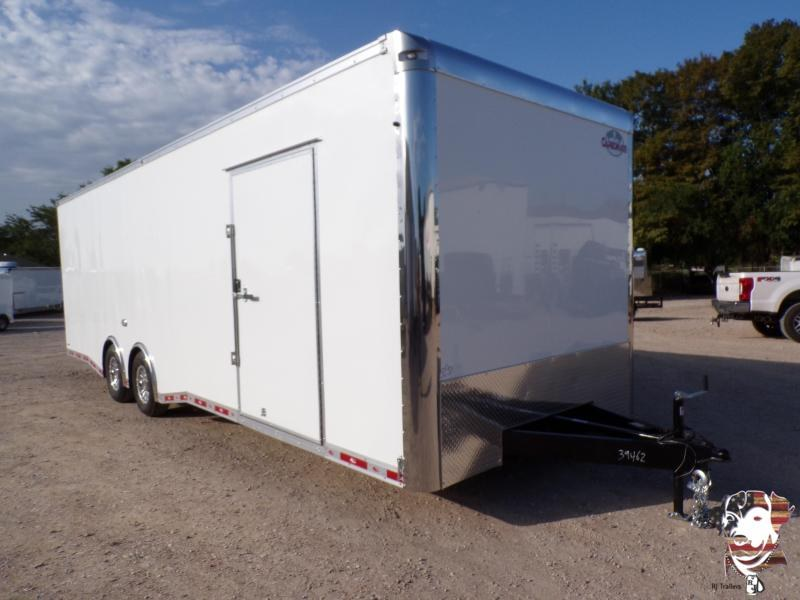 2021 Continental Cargo 8.5 x 28 NS Car / Enclosed Trailer