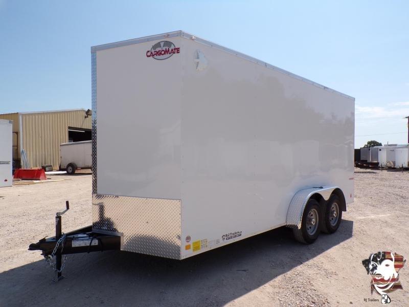 2021 Continental Cargo 7x16 E-Series Enclosed Cargo Trailer