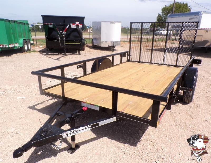 2020 Buck Dandy SA 77 x 12 Utility Trailer