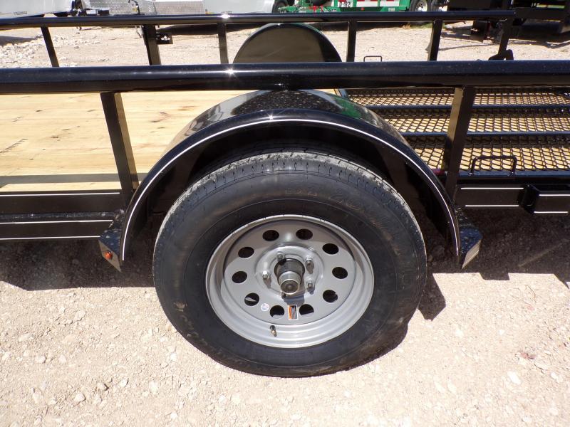 2020 Buck Dandy SA 77 x 12 Utility Trailer