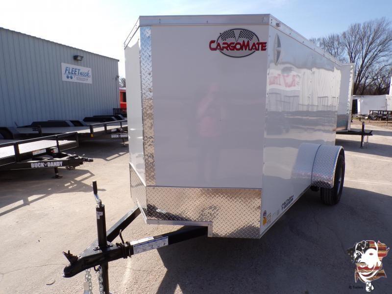 2021 Cargo Mate 5 x 10 E-Series Enclosed Cargo Trailer