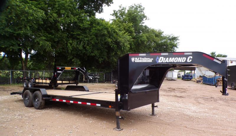 2021 Diamond C Trailers 82 x 24 HDT Gooseneck Equipment Trailer