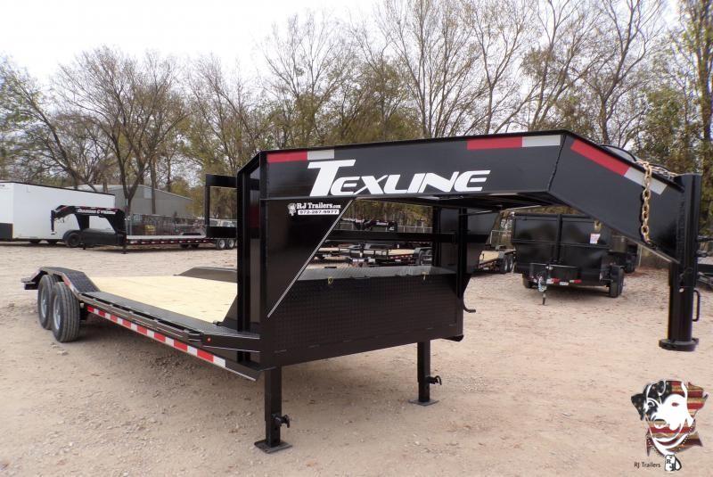 2021 TexLine 102 x 24 Equipment Trailer