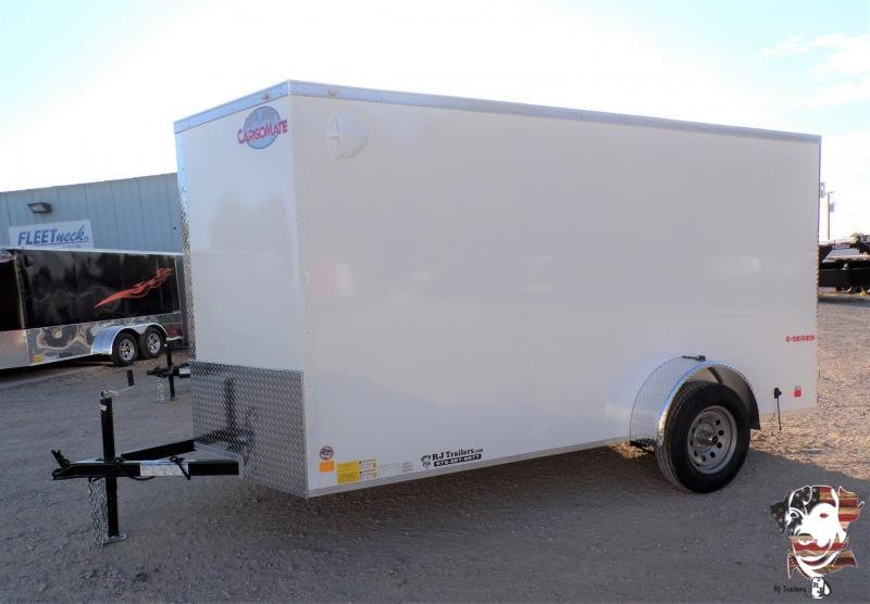 2021 Continental Cargo 6 x 12 E-Series Enclosed Cargo Trailer
