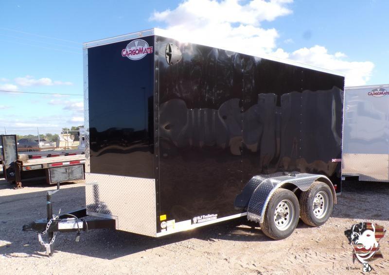 2022 Cargo Mate 6 x 12 TA E-Series Enclosed Cargo Trailer